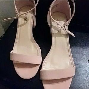 Pink Heeled Sandals